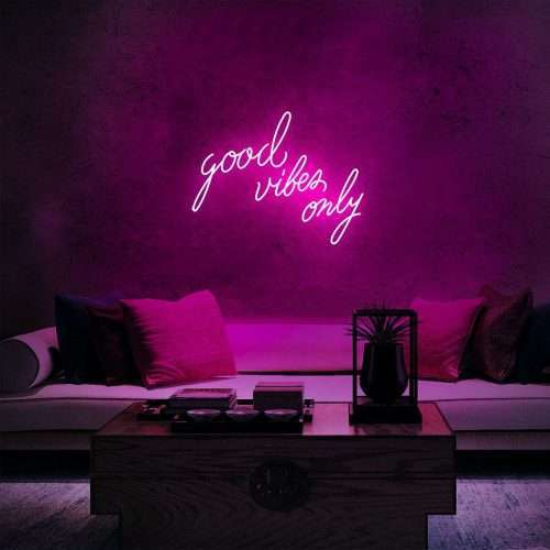 Good Vibes Only Neon Sign photo review