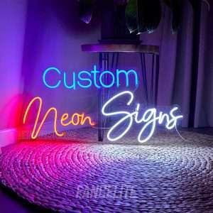 Custom Neon Sign Wall LED Light Glow Board India
